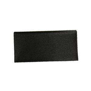 その他 イタリア製ファクトリー革小物 牛革 レザーアイテム 長財布 ウォレット ブラック 399CX ds-2268143