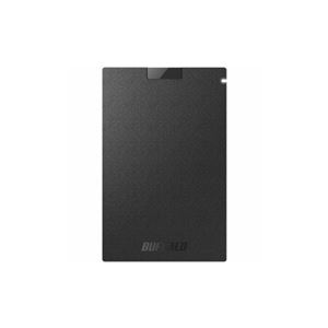 その他 BUFFALO 耐振動・耐衝撃 USB3.1(Gen1)対応 ポータブルSSD 960GB ブラック SSD-PG960U3-BA ds-2268298