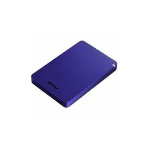 その他 BUFFALO ポータブルHDD ブルー 1TB HD-PGF1.0U3-BLA ds-2268324