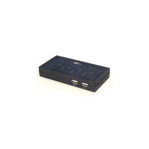 その他 ラトックシステム USB接続 (4台用) ミニBOXタイプ REX-430U ds-2269402