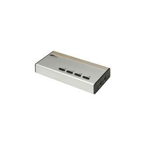 その他 ラトックシステム USB接続DVI/Audio対応(PC 4台用) REX-430UDA ds-2269403