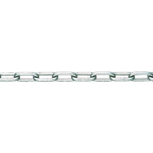 トラスコ中山 水本 SUS304ステンレスチェーン10-S 長さ・リンク数指定カット 2.1~3m tr-1543544