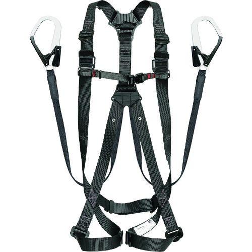 トラスコ中山 タジマ ハーネスGS 平ロープ ダブルL1セット 黒S tr-1664769