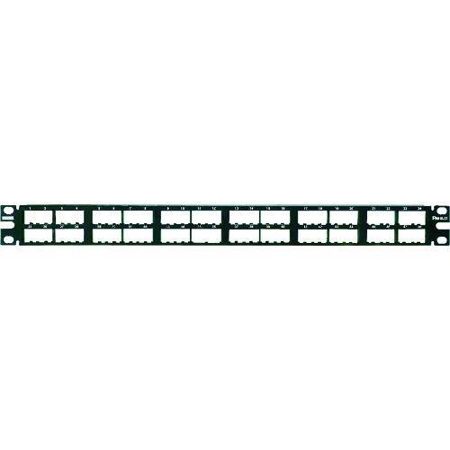 トラスコ中山 パンドウイット 高密度モジュラーパッチパネル枠 48ポート CPP48HDWBLY tr-1280422