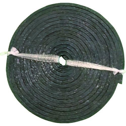 トラスコ中山 ダイコー グランドパッキン D4101 テフロン含浸炭化繊維 幅22.2mm tr-1494670