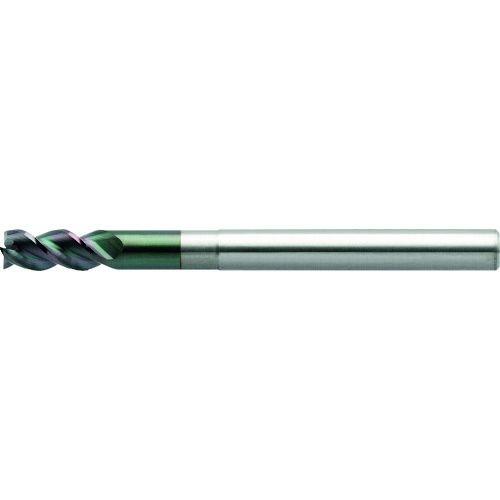 トラスコ中山 ユニオンツール 3枚刃DLCコートロングネックスクエア 外径7×有効長35×刃長14×全長80 tr-1493757