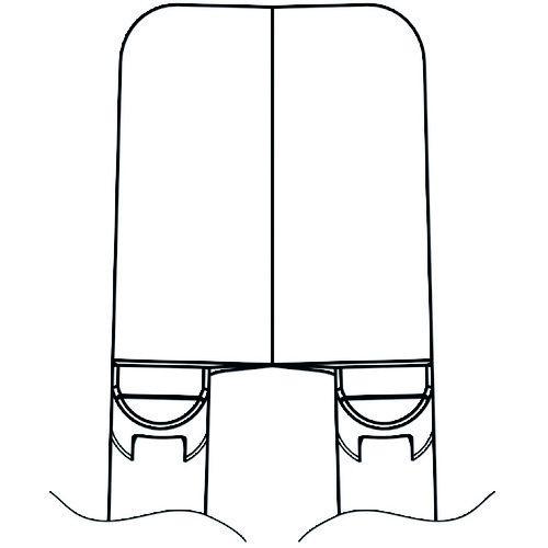 トラスコ中山 白光 ブレード ストレート tr-1667887