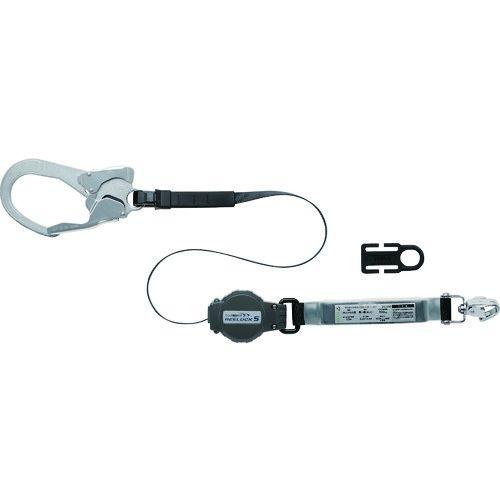 トラスコ中山 ミドリ安全 MHSシリーズ用ランヤード(常時巻取り式) MHLYS-RLS-56DJMR-T1-HP tr-1602796