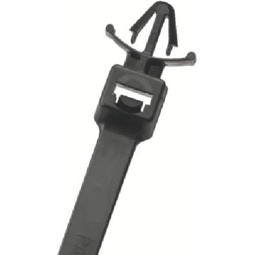 トラスコ中山 パンドウイット 押し込みタイプナイロン結束バンド 耐候性黒 (250本入) tr-8281635