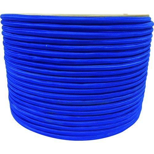 トラスコ中山 ユタカメイク タイトゴムロープドラム巻 9mm×150m ブルー tr-1613346