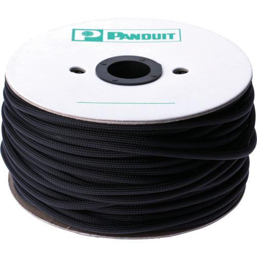 トラスコ中山 パンドウイット スーパーネットチューブ(ほつれ防止タイプ) 黒 外径6.4mm 304.8m tr-1007356