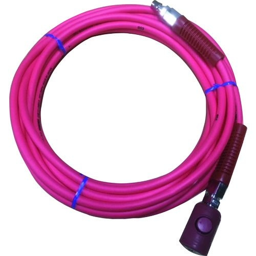 トラスコ中山 ヤマト PVCソフトブレードエアホース(ボタン式カップリング付) tr-1374274