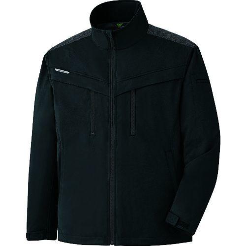 トラスコ中山 ミドリ安全 VERDEXCEL ストレッチ防寒ジャンパー VE2009 上 ブラック 4L tr-1493583