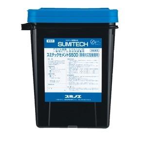 その他 【スミノエ】 スミテックセメント 【S500 15kg缶】 水性 初期粘着型 〔DIY リノベーション リフォーム 内装工事〕【代引不可】 ds-2272992