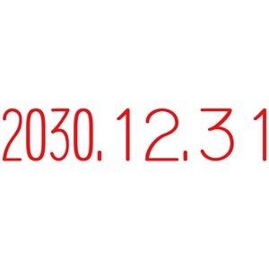 その他 (まとめ)サンビー テクノタッチ回転印 本西暦日付3号 TK-CR03(×10セット) ds-2276566