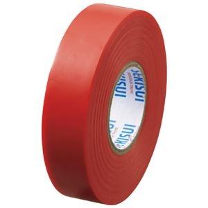 その他 (まとめ)セキスイ エスロンテープ #360 19mm×20m 赤 V360R2N(×100セット) ds-2276598