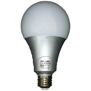 その他 (まとめ)WINGACE LED電球 ニュールミネα22W LED-L22A(×5セット) ds-2277025