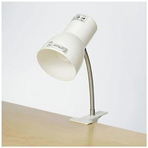 その他 (まとめ)朝日電器 クリップライト SPOT-BLNE26C(PW)(×5セット) ds-2277099