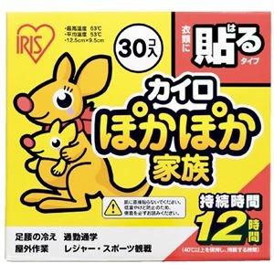 その他 (まとめ)アイリスオーヤマ ぽかぽか家族 貼る レギュラー 30個(×30セット) ds-2278248