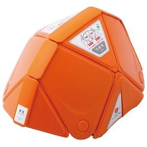 その他 (まとめ)ミドリ安全 フラットメット TSC-10 オレンジ(×3セット) ds-2278304