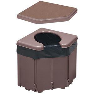 その他 (まとめ)サンコー ポータブルコーナートイレ R-46(×3セット) ds-2278308