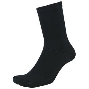 その他 (まとめ)福徳産業 デオセル消臭靴下先丸 黒 L 2足組(×20セット) ds-2278395