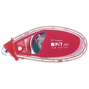 その他 (まとめ)トンボ鉛筆 テープのりピットエアーミニ ピンク PN-EASC80 (×100セット) ds-2278832
