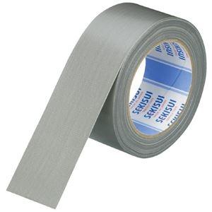 その他 (まとめ)セキスイ 布テープ No600V N60GV03 50mm*25m 銀(×50セット) ds-2279240