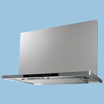 パナソニック 洗浄機能付きフラット形レンジフード 90cm幅 シルバー(幕板・横幕板は別売) FY-90DWD4-S