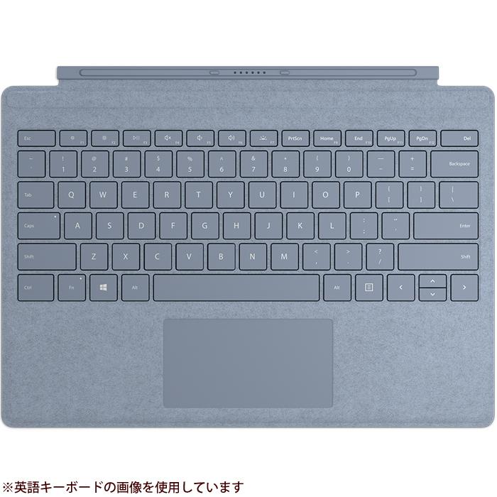 マイクロソフト 【タブレットケース】Surface Pro Signature タイプ カバー 日本語レイアウト・アイスブルー FFP-00139【納期目安:05/下旬入荷予定】