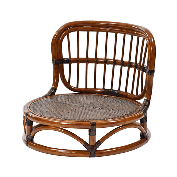 送料無料 ラタンワールド ラタン手編み 座椅子 新作からSALEアイテム等お得な商品 満載 丸型 KA 12入荷予定 C025KA トレンド 納期目安:03