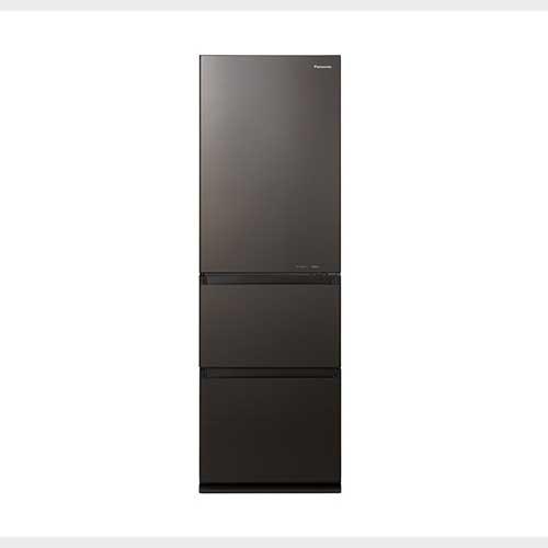 パナソニック 365L 3ドア右開きタイプ冷蔵庫 ダークブラウン NR-C371GN-T