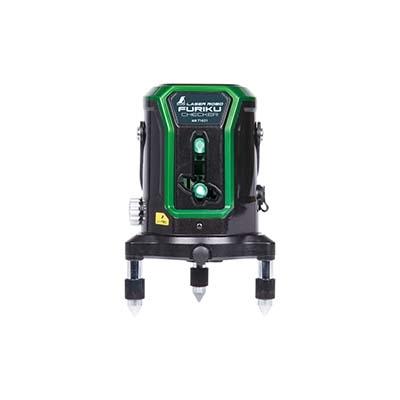 シンワ測定 レーザーロボ 不陸チェッカー グリーン 電動回転機構付 4960910716216
