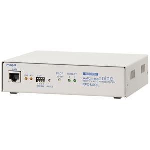 その他 明京電機 遠隔電源制御装置 2口タイプのネットワーク監視・自動リブート装置 WATCH BOOTnino RPC-M2CS ds-1895331