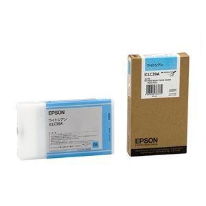 その他 (まとめ) エプソン EPSON PX-P/K3インクカートリッジ ライトシアン 220ml ICLC39A 1個 【×10セット】 ds-2229953