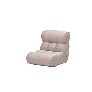 その他 ソファー座椅子/フロアチェア 【ベージュ】 ワイドタイプ 41段階リクライニング 『ピグレットJr』 ds-2261825