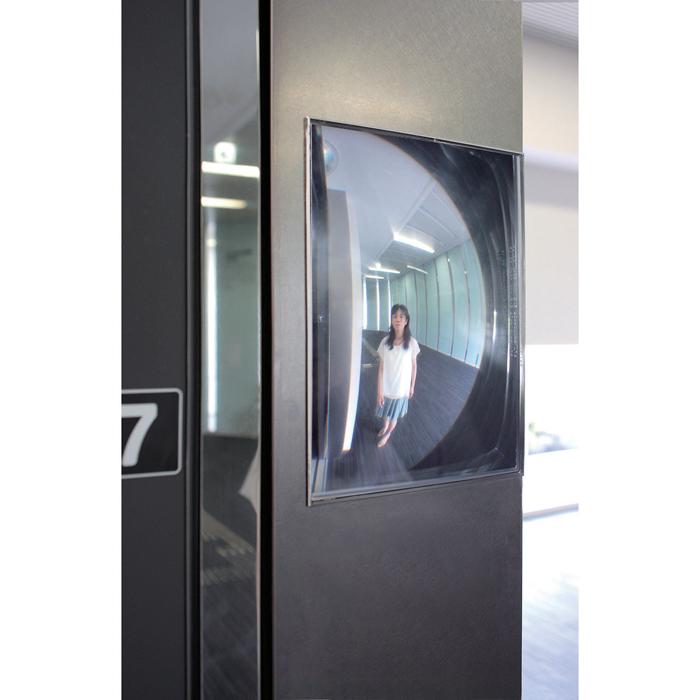 コミー FFミラー三方枠(エレベーター用) FVL16B 23-6732-01【納期目安:1週間】