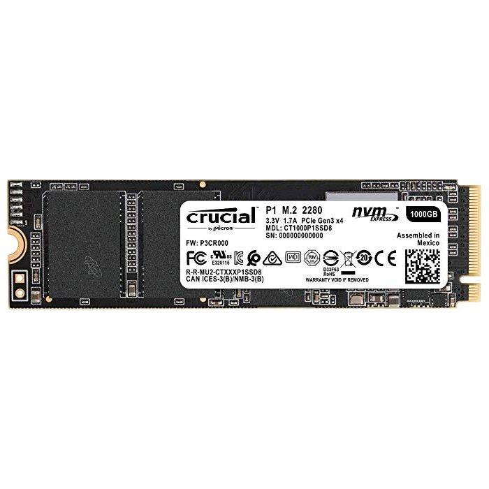CRUCIAL SSD 1TB M.2 2280 CT1000P1SSD8