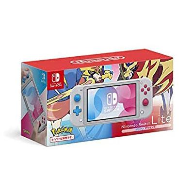 任天堂 Switch Lite本体 ザシアン・ザマゼンタ 4902370544091