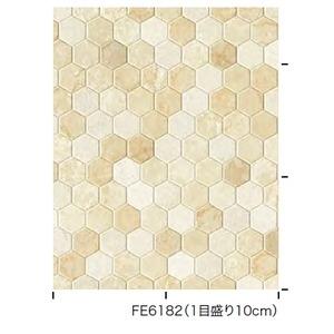 その他 タイル調 のり無し壁紙 サンゲツ FE-6182 92.5cm巾 40m巻 ds-2284012