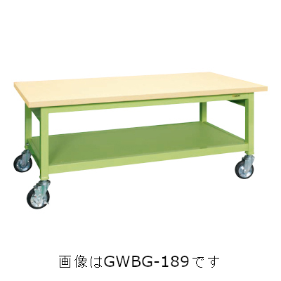 サカエ 重量作業台GWBタイプ(移動式) GWBG-128