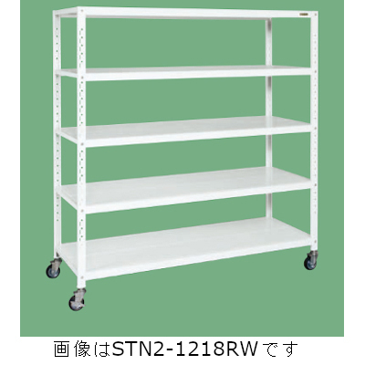 最新のデザイン サカエ サカエキャスターラック(ゴム車) STN4-1518RW, 雑貨カンカン 7b273c37