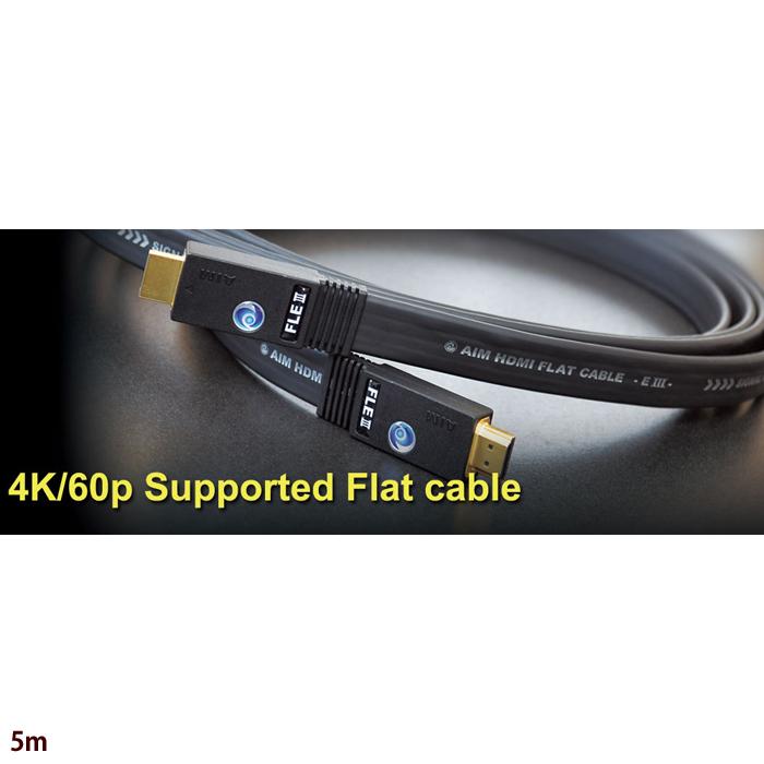 その他 AIM HDMIフラットケーブル[FLE3] FLE3-05