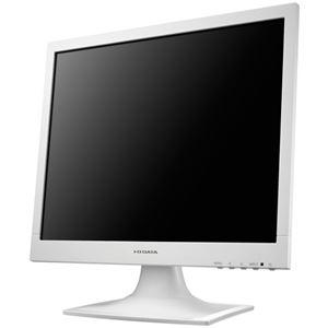 その他 アイオーデータ フリッカーレス設計採用17型スクエア液晶ディスプレイ ホワイト 5年保証 LCD-AD173SESW 1台 ds-2289130