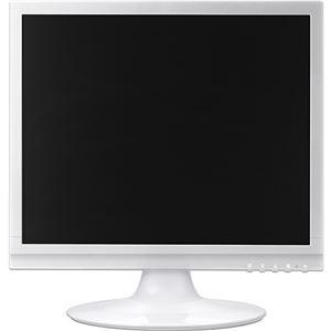 その他 グリーンハウス17型カラーLED液晶ディスプレイ VGA/DVI ホワイト GH-LCS17C-WH 1台 ds-2289138