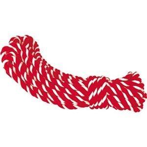 その他 (まとめ)ササガワ 紅白ロープ アクリル製直径8mm×長さ10.5m 40-6555 1本【×10セット】 ds-2308920