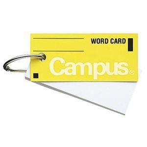 その他 (まとめ)コクヨ キャンパス 単語カード 中 黄タン-101Y 1セット(10冊)【×10セット】 ds-2309005