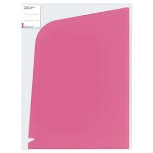 その他 (まとめ)コクヨ ホルダーブック(ポケット:4)A4(A3)ピンク フ-5702P 1セット(5枚)【×10セット】 ds-2309396