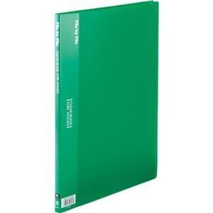 その他 (まとめ)ビュートン クリヤーブック A4タテ10ポケット 背幅9mm グリーン BCB-A4-10GN 1セット(10冊)【×10セット】 ds-2309449