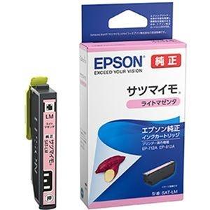 その他 (まとめ)エプソン インクカートリッジ サツマイモライトマゼンタ SAT-LM 1個【×10セット】 ds-2309562